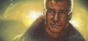 Deckard from Blade Runner by JeffLafferty