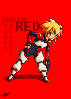 Gunstar Red by mrdaywhea
