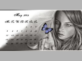 Calendar May 2009 by Zindy