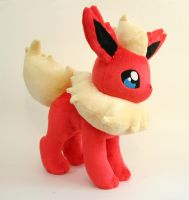 Flareon Plush by Yukamina-Plushies