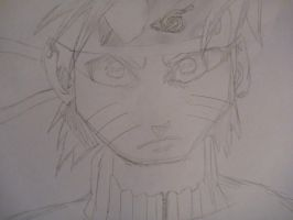 My drawing of Naruto by overlordsif