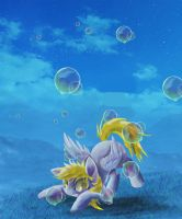 Bubbles by SuperRobotRainbowPig