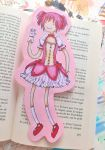Madoka Magica/Adventure Time Bookmark by EvaHolder
