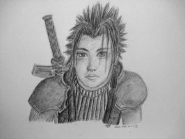 Zack Fair Crisis Core by twinkelsparky1