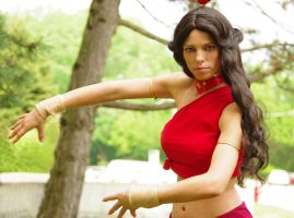 Fire Nation Katara at Acen 2011 by artangel85