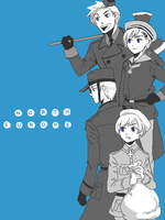 hetalia - n.europe by lackofsleep
