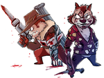 Chip and Dale: Zombie Crushers by BeshAniyZayka