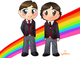 Klainebows- by Lysnat