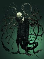 SlenderMan by psychostinch