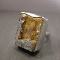Raw Stellerite ring by Jealousydesign