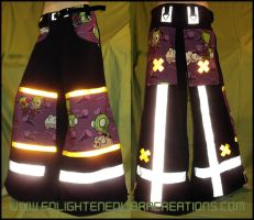 Invader Zim Shuffle Pants by RedheadThePirate