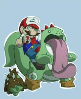 Pokemario by chief-orc