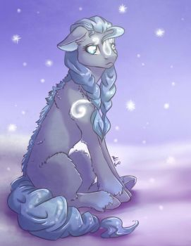 it is cold by Alina-Sherl
