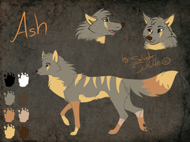 Ash - character sheet by StanHoneyThief