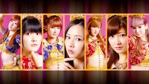 Berryz Group Wallpaper 4 - Cha Cha Sing by Mordhel44
