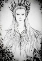 Thranduil from the Hobbit by clemce666