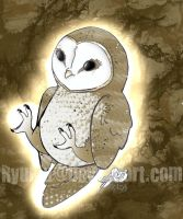 .:Barn Owl:. by RyuBlu