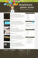 Personal webdesign blog by rozmin