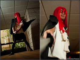 Shakugan No Shana: Coming In to Fight by CosplayerWithCamera