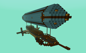 Airship Draconis by Aapur