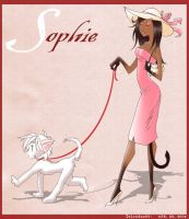 Sophie and her pet Kitten by DeLinQueNT-