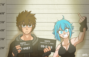 F@#K! the police! by Master-sweez