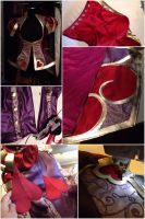 Heartseeker Ashe cosplay in progress by yayacosplay