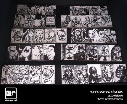 Mini Canvas Artworks Compilation II by Autocons