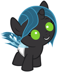 Baby Queen Chrysalis by Beavernator