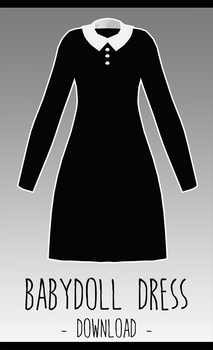 Baby Doll Dress [ DOWNLOAD  ] by avant----garde