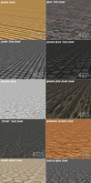 XNALara / XPS Floor Packs by IshikaHiruma