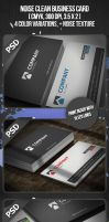 Noise Clean Business Card by VadimSoloviev
