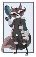 Rocket Racoon by LordSofus