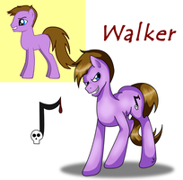 Walker the Pony by brat-the-twitchy-one
