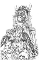 Grimm Fairy Tales #86 Cover by Kromespawn