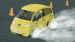 Tata Nano - India drift by VachalenXEON