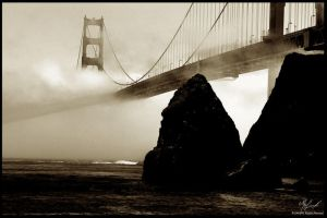 Below the Bridge by the-shutterbug