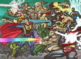Indonesian Classic Superheroes by RagaLangit