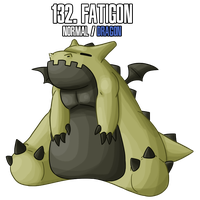 Fakemon : 132 by DrCrafty