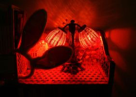 Red light by Laura-in-china