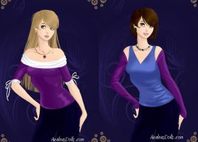 Shepard Sisters VF by LadyIlona1984