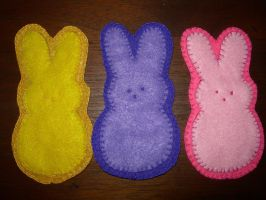 Bunny Magnets by UrsulaPatch