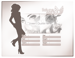 SM: Member Application Template by chiyoppoi