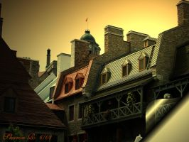 Up on a Roof by Gothic-Mystery