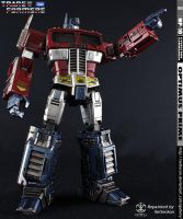 Optimus Prime MP-10 Repaint - We're From Cybertron by xeltecon