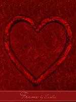 Frame - png-Heart by Euselia