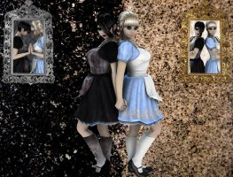 Alice and Malice by VisualPoetress