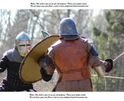 Knights Do Battle (25) by Mithgariel-stock