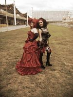 Madame Red and Beast 2 by Shira-inochi