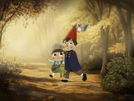 Over the Garden Wall - Trail by Coscomomo
